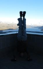 Skyline Lookout Headstand, Queenstown, New Zealand