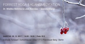 Forrest Yoga Workshop mit Dr. Wiebke Mohme