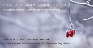 Forrest Yoga Workshop mit Dr. Wiebke Mohme & Leon