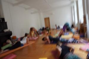 Die Teilnehmer dieser 300h+ Yoga Ausbildung kommen sowohl aus Berlin, als auch aus Hamburg, Hannover, Leipzig & Dresden.