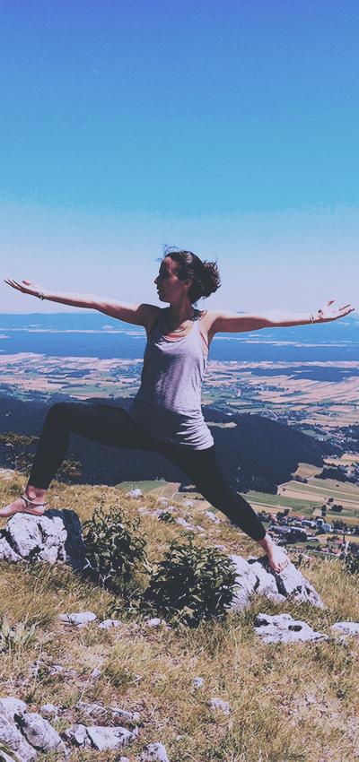 Julie Giacomini Fédération française de yoga enfant récré yoga