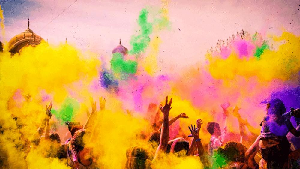 Holi – la fête des couleurs