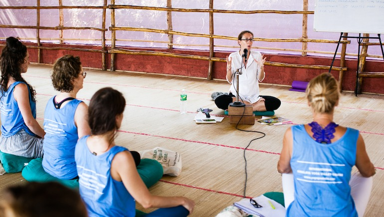 500 Hour Yoga Teacher Training Philosophy Lecture