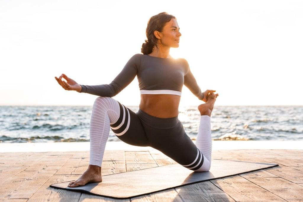 fit yoga practice