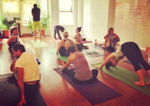Mysore style Ashtanga Yoga session