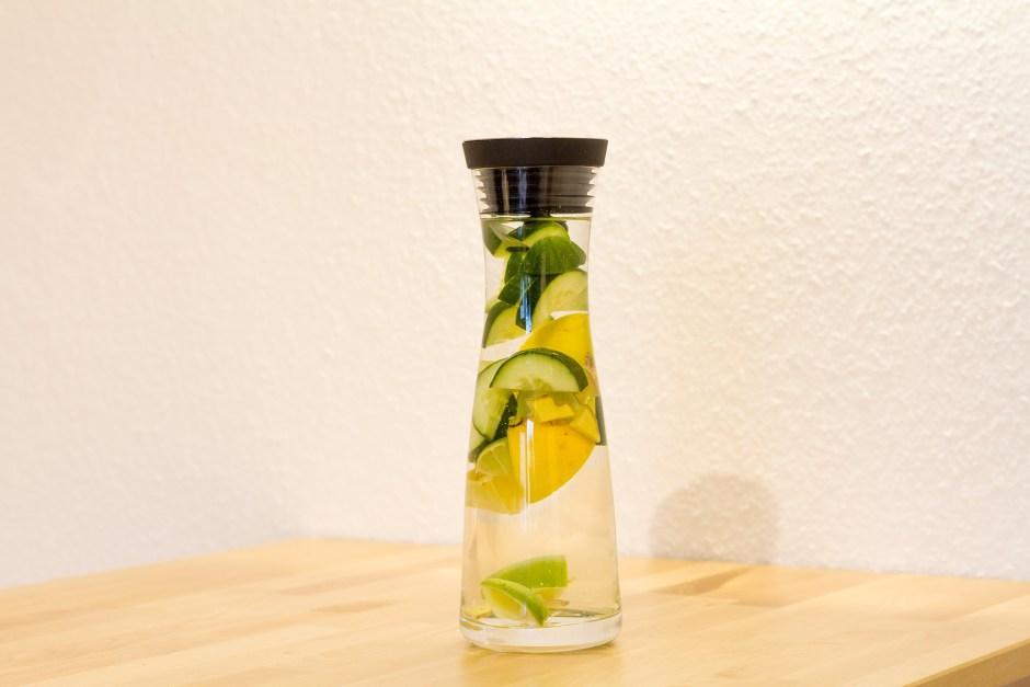 Water Detox recipes : Lemon + Cucumber