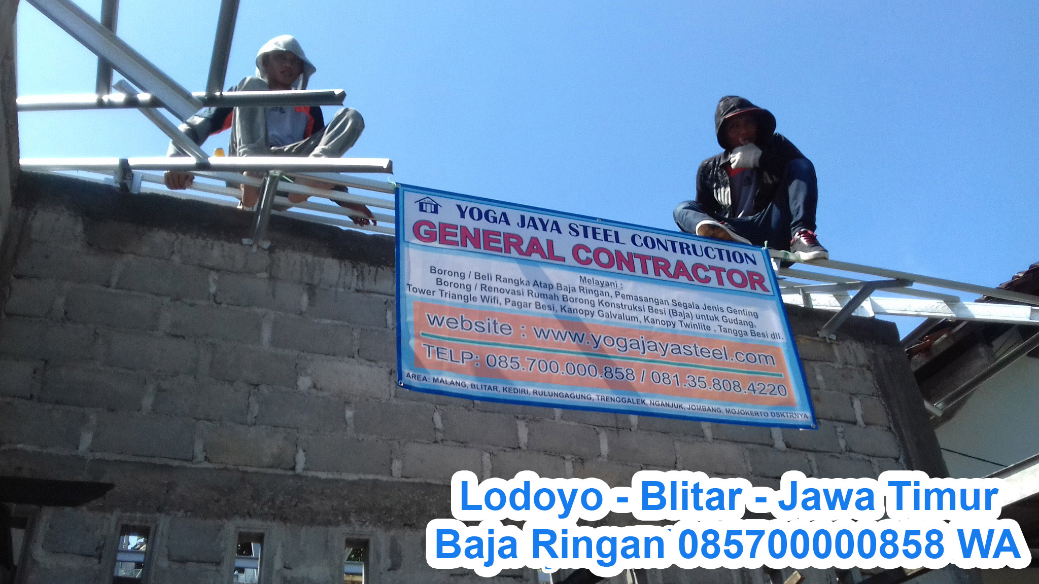 baja ringan kediri kota east java galvalum jual besi beton sni kontraktor