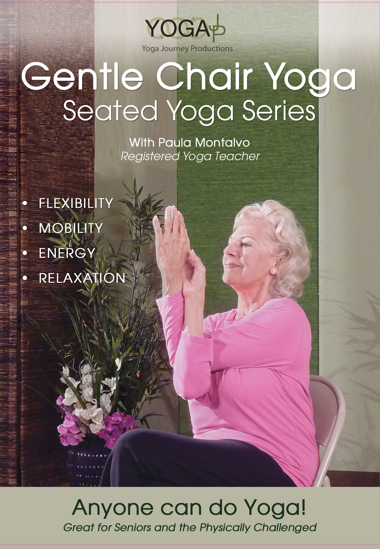 yoga chair exercises for seniors hanging frame uk gentle  seated series dvd yogajp