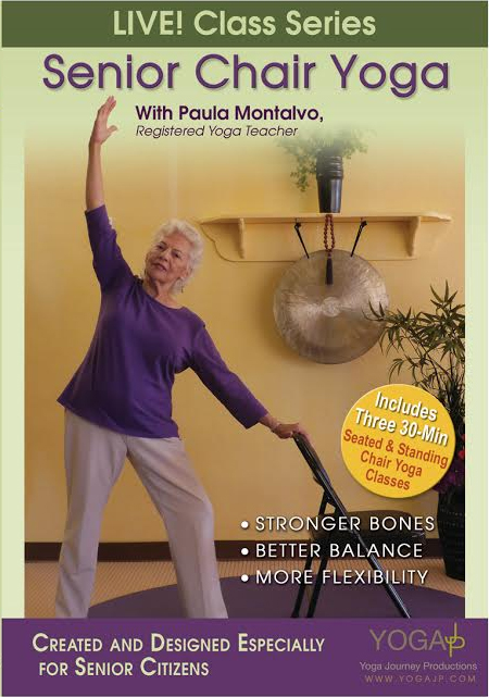Senior Chair Yoga Live DVD  YogaJP