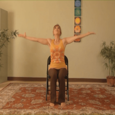 seated chair yoga poses for seniors executive cover energizing dvd with sherry zak morris – yogajp