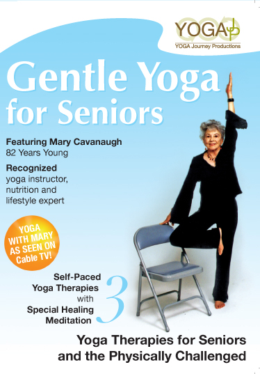 Gentle Yoga for Seniors with Mary Cavanaugh DVD  YogaJP