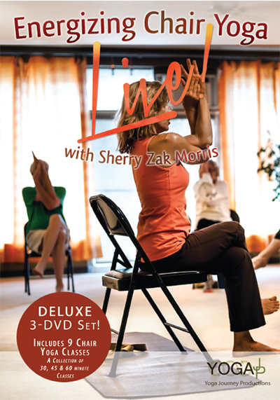 Chair Yoga Energizing 9Class Set  LIVE Deluxe Series 1