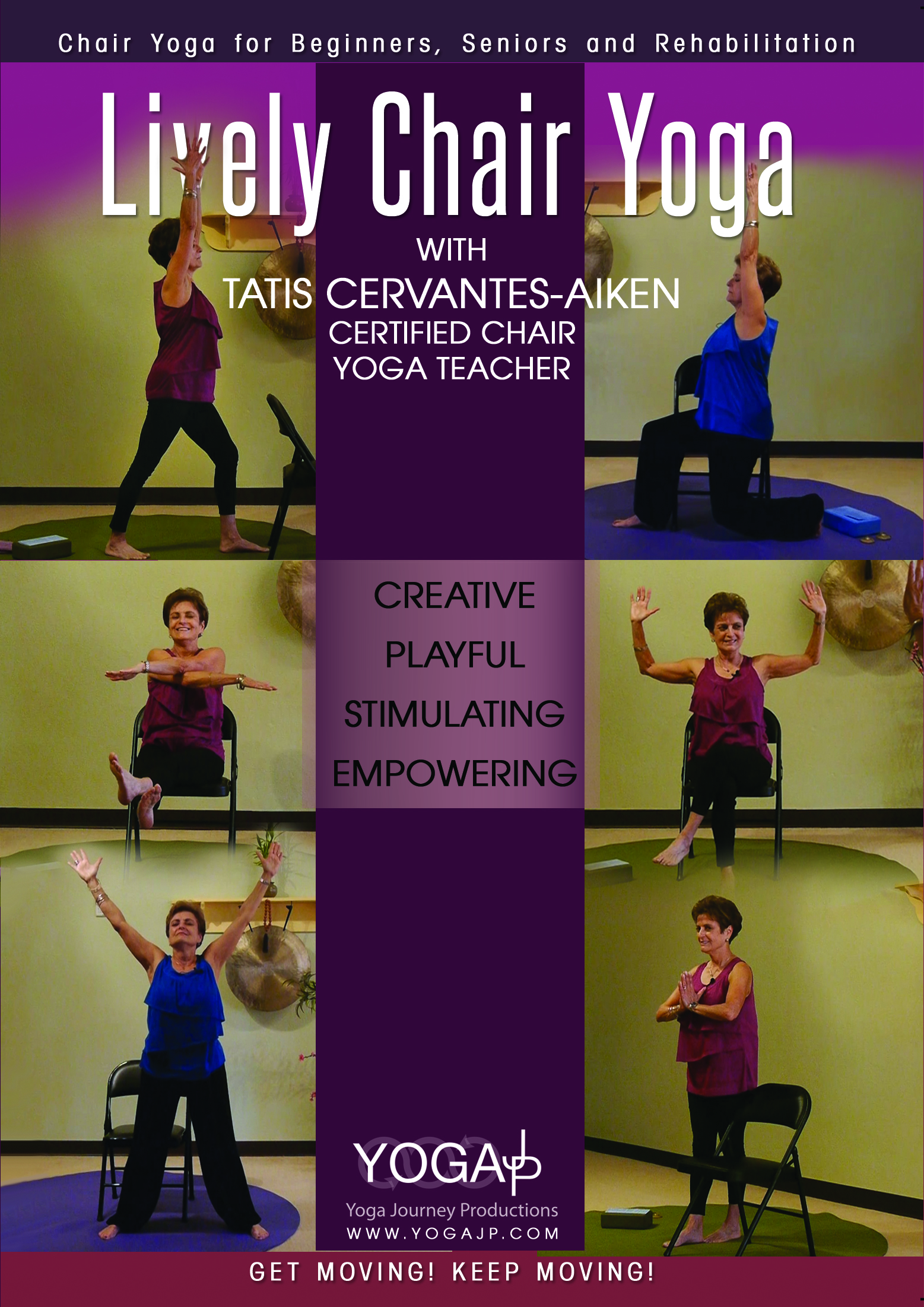 NEW DVD Lively Chair Yoga with Tatis  Low Back Video