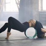 33 Yoga Wheel Exercises To Try Today With Photos Yoga Kali