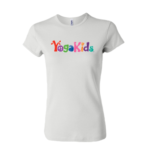 YogaKids Logo Ladies Fitted Tee