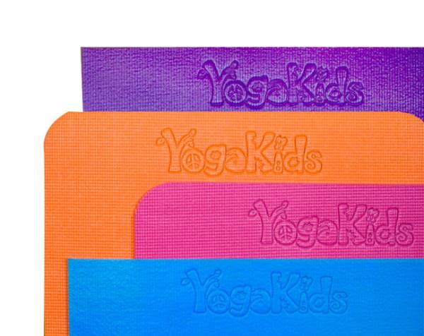 YogaKids Happy Mat Embossed Logo