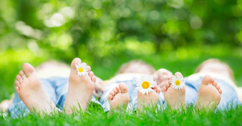 Feet in Field