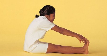 YogaKid in Peanut Butter and Jelly Pose