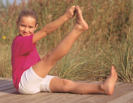 Bow and Arrow Pose