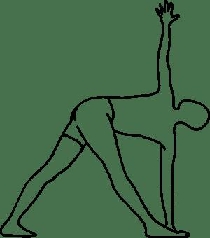 parvritta trikonasana • Yoga Lab Lisboa