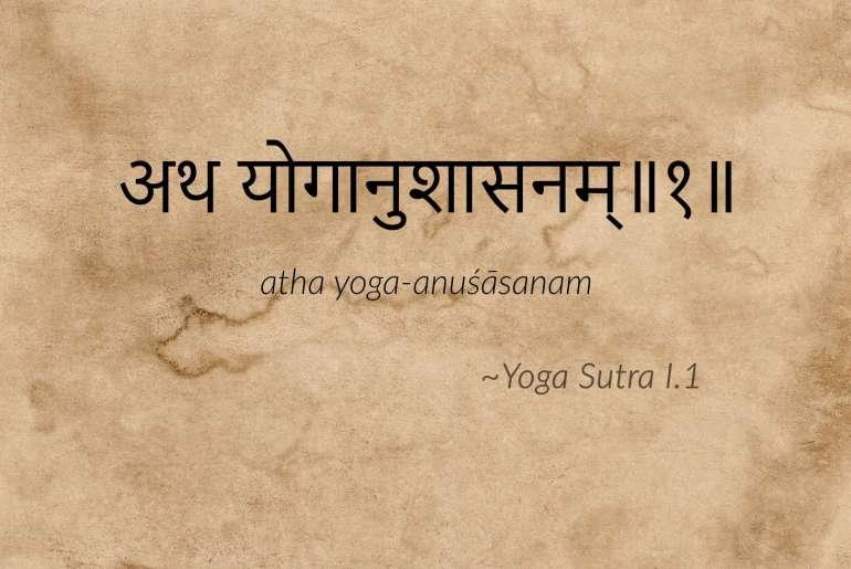 Maintenant démarre la discipline de yoga