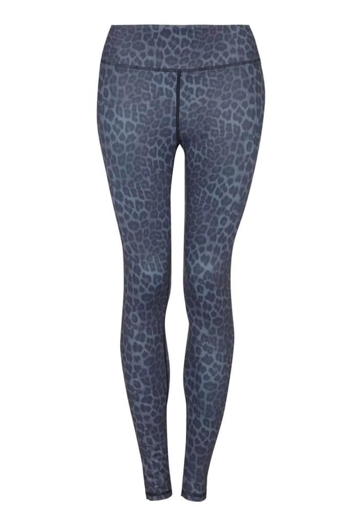 Grey Leopard Long Leggings_F