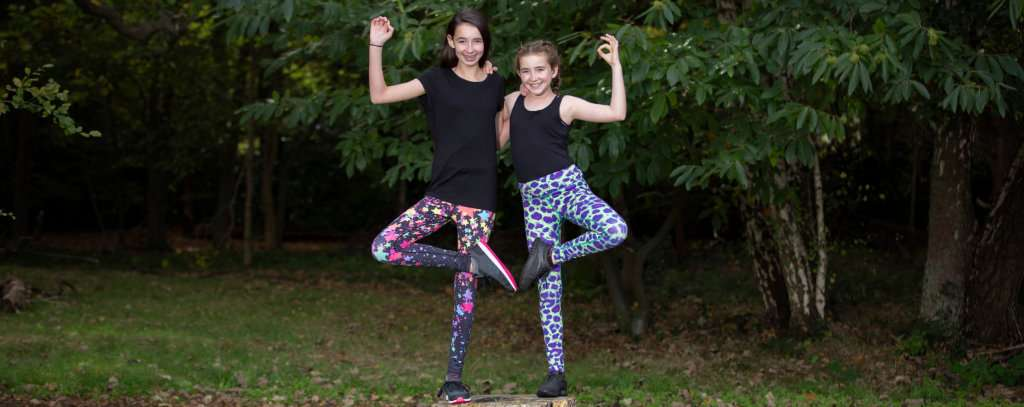 YogaLeggs Kids/Childrens Yoga Leggings