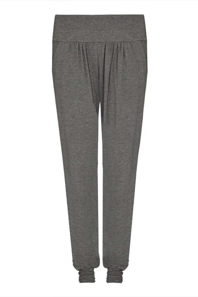 Harem_Grey Yoga Pants