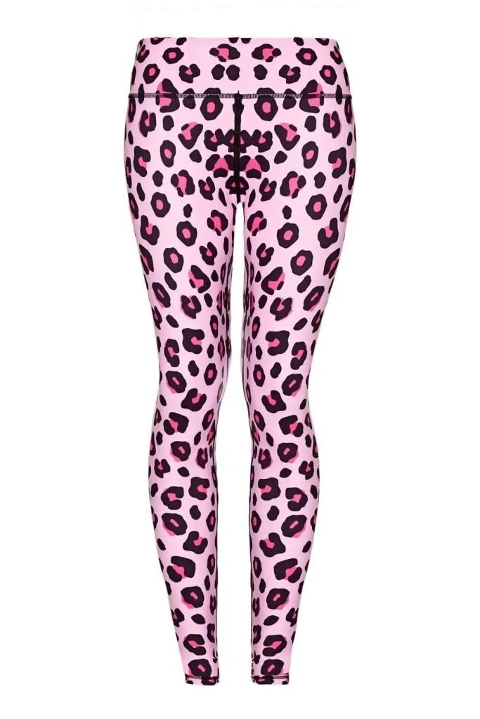 Pink Leopard Yoga Leggings