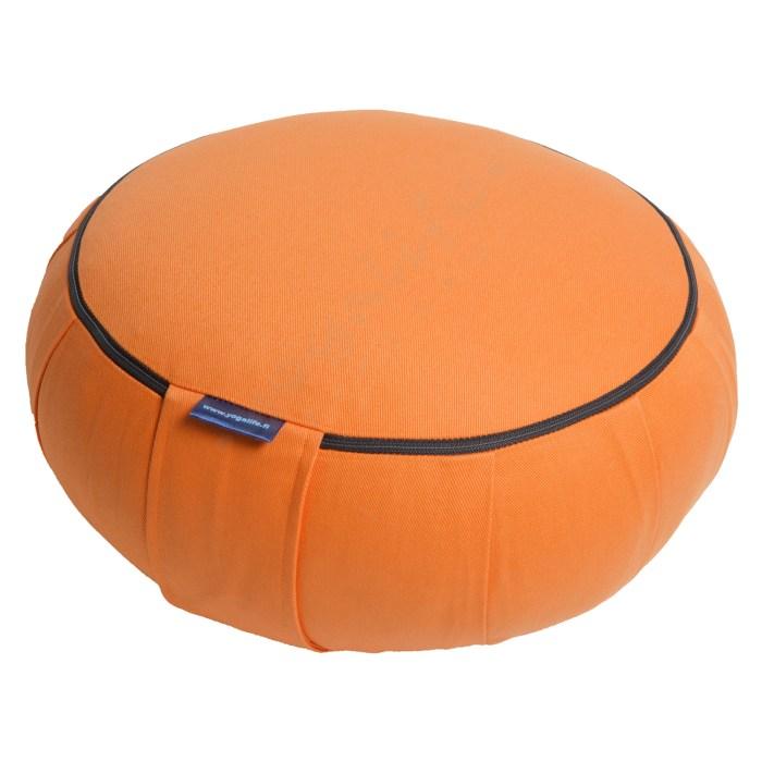 zafu oranssi kapokki yogalife