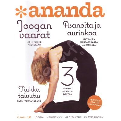 Ananda lehti – numero 1/2012