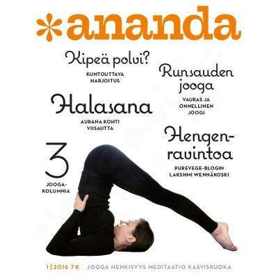 Ananda lehti – numero 1/2016