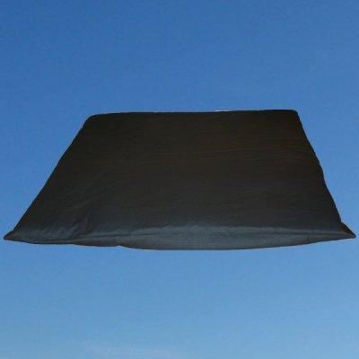 Zabuton musta 80x80cm – Yogalife