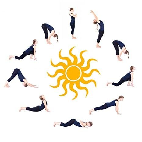 saudação ao sol yoga