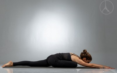 Focus on outer hips and galavasana (60 min – Level 2-3)