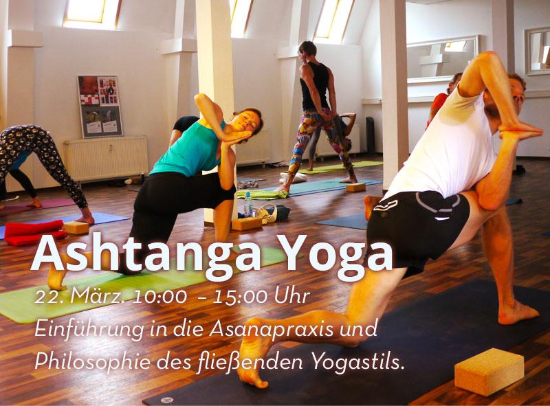 22. Mrz. Ashtanga Yoga Workshop 10:00 Uhr
