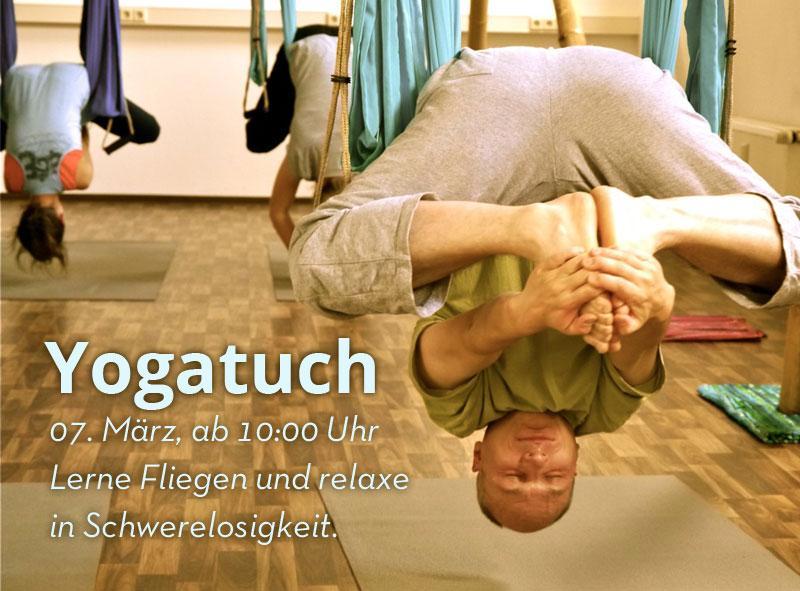07. Mrz. Yogatuch und Acro Yoga Workshop