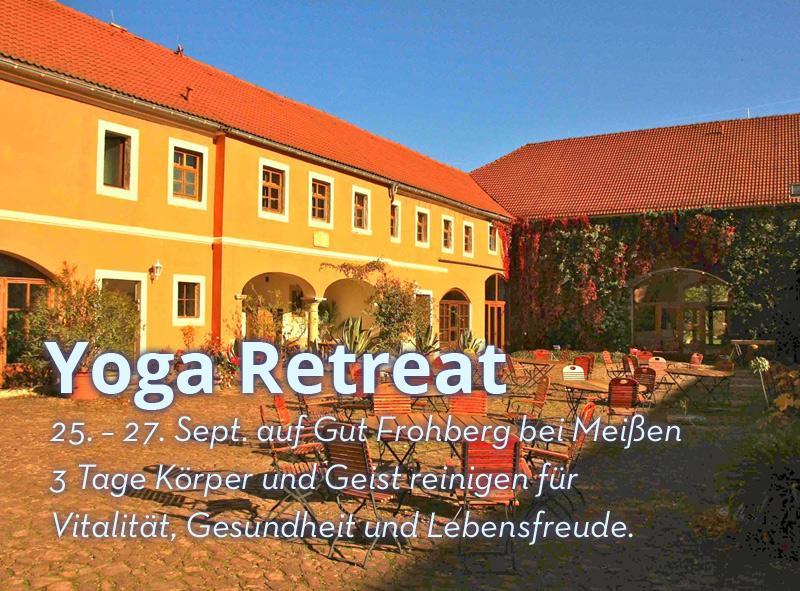 25. – 27. Sept. Yoga Retreat auf Gut Frohberg