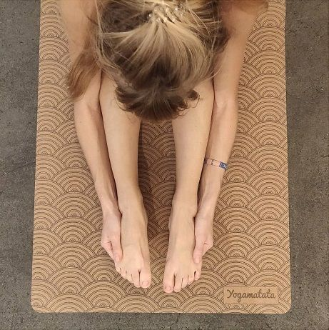 tapis de yoga vagues