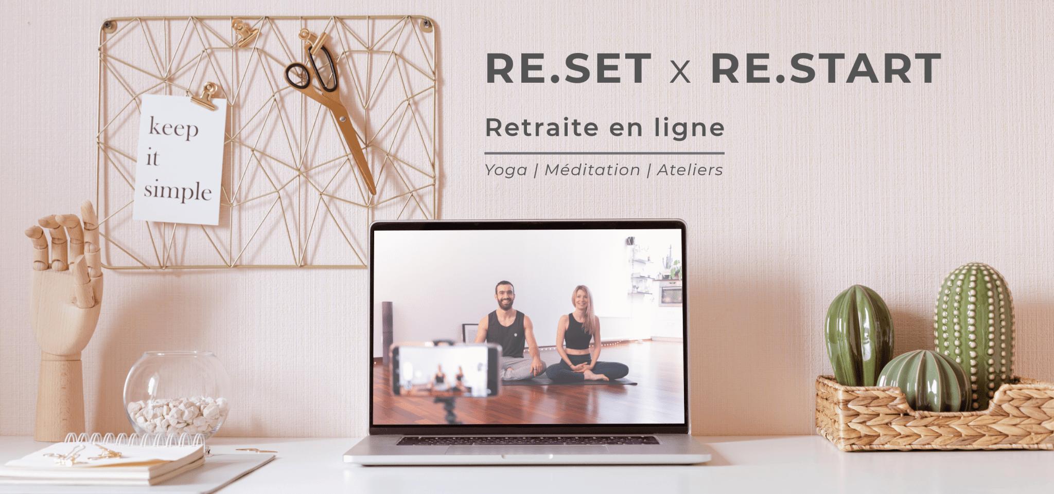 Re.Set / Re.Start header