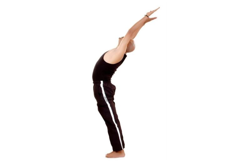Hasta Uttanasana (Raised Arms Pose) - Surya Namaskar (Sun Salutation)