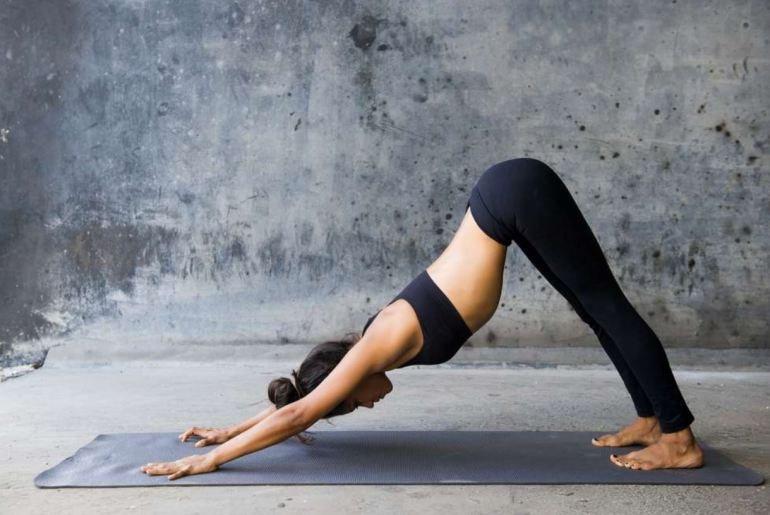 Adho Mukha Svanasana (Downward Facing Dog Pose)
