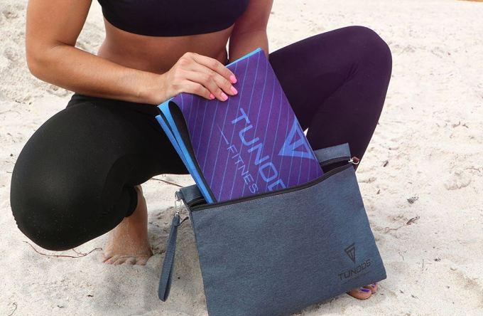 Tunods Fitness_ Lightweight_Travel Yoga Mat