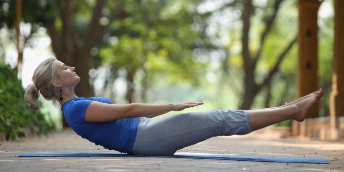 Yoga Asana_Naukasana
