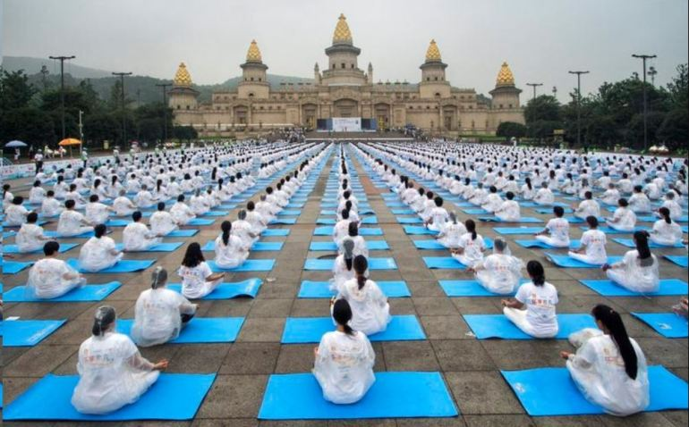 International Yoga Day - Wuxi, China