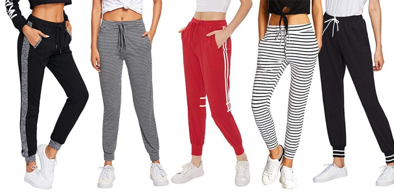 SweatyRocks Women Jogger Pants