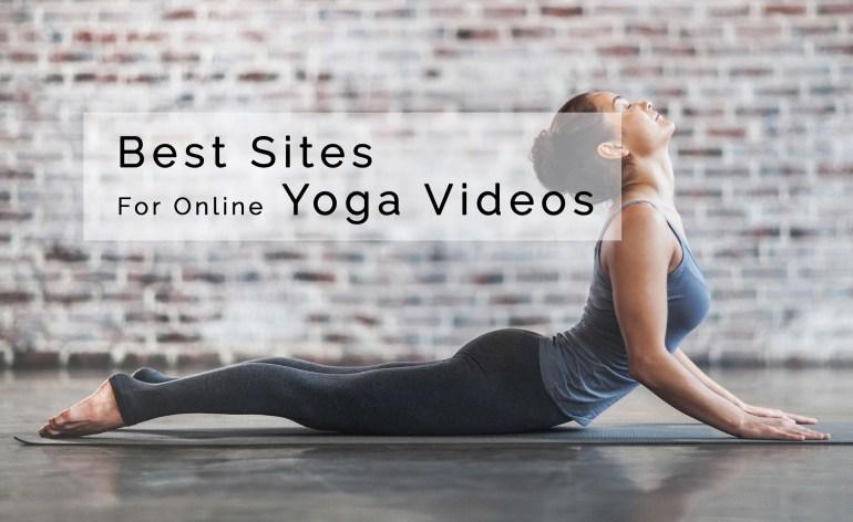 Best Websites for Online Yoga Videos
