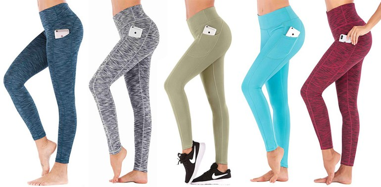 Best Yoga Pants With Pockets - IUGA