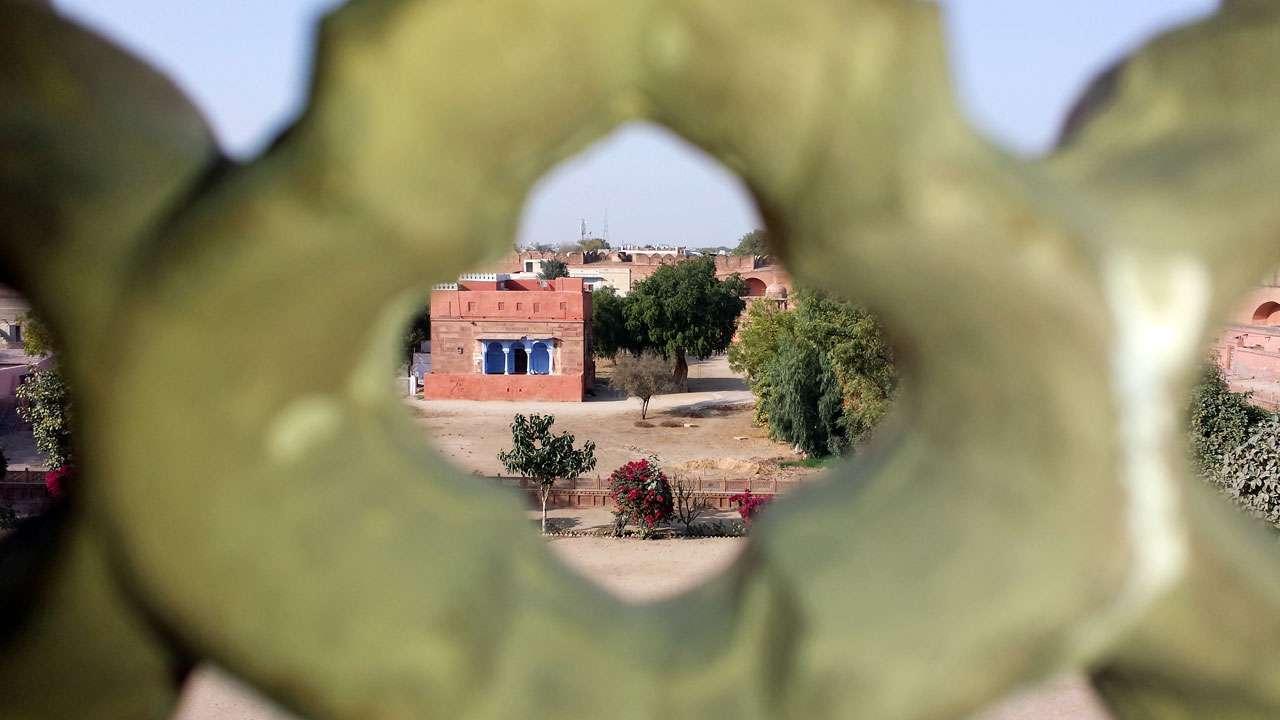 Detailaufnahme Rajasthan © Annette Bauer yoga-xperience.de