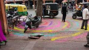 Annette Bauer, Yogannetteblog.de, Farben für Holi, Indien